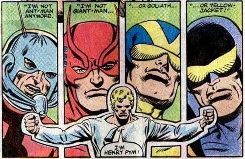 Hank Pym Yellow Jacket