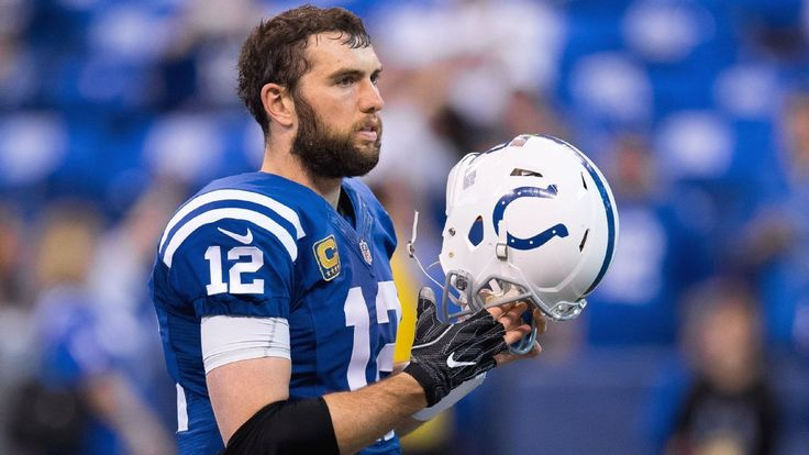 Andrew Luck is on the PUP list, and the Colts aren't saying when he'll be ready to play. For now, Scott Tolzien is the starting QB.