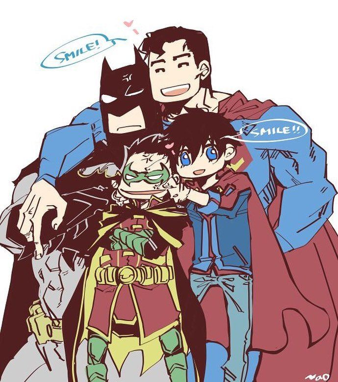 "47 Likes, 5 Comments - ComicsVSAnime (@comicsvsanime) on Instagram: ""Jon Kent And Damian Wayne Súper Sons. Instagram and Twitter the best HD images from the world of…"""