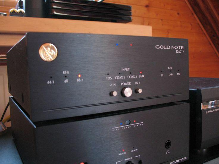 Goldnote Microline DAC7