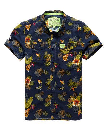 Superdry Camisa Slimline Washbasket Hawaiian