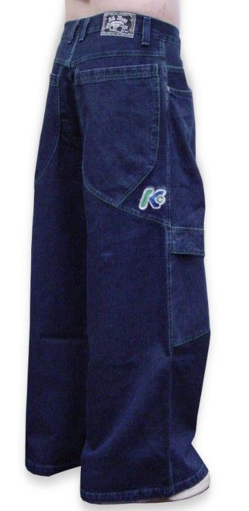 "Kikwear 32"" Bottom Wide Leg Pants (Blue Denim)  They're back, and less than $50 a pair!"