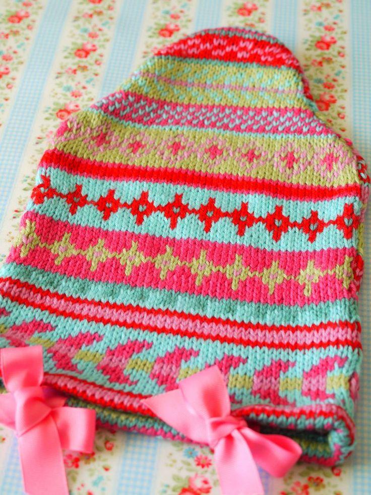 172 best hot water bottle cover images on Pinterest | Knitting ...