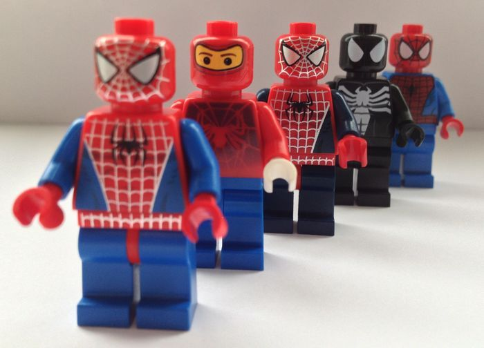 LEGO Spider Man Minifigures