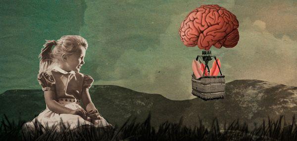 GEHIRN & GEIST - STOTTERTHERAPIE | ILLUSTRATION  BY CAROLIN WANITZEK