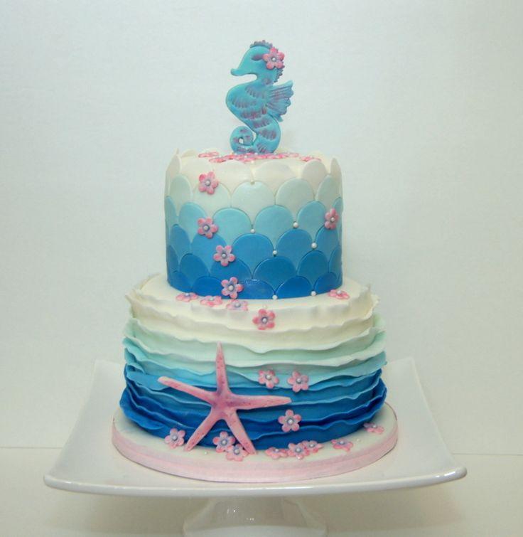 Best 25+ Ocean Cakes Ideas On Pinterest