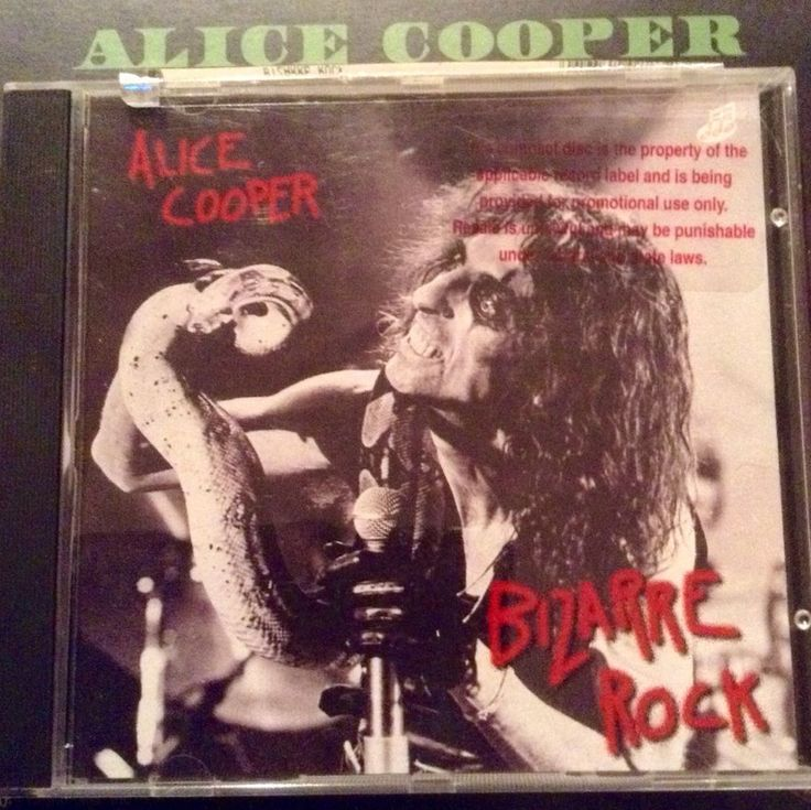 ALICE COOPER RAREST ROCK PROMO CD EVER BIZARRE ONLY 100 IN THE WORLD MCA KANE