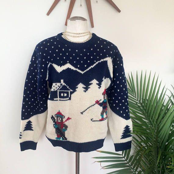 Vintage Novelty Bear Sweater by Mz Jones Boudoir