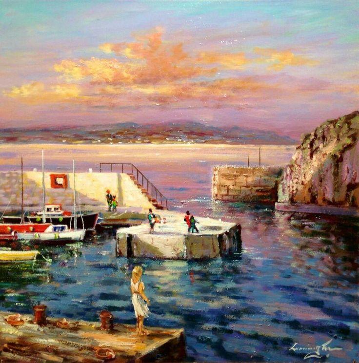 Portstewart Harbour by William Cunningham