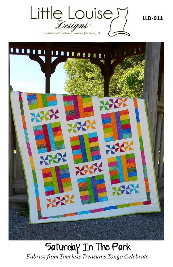 Baby Quilt Pattern Layer Cake Pattern by LittleLouiseQuilts, $9.00