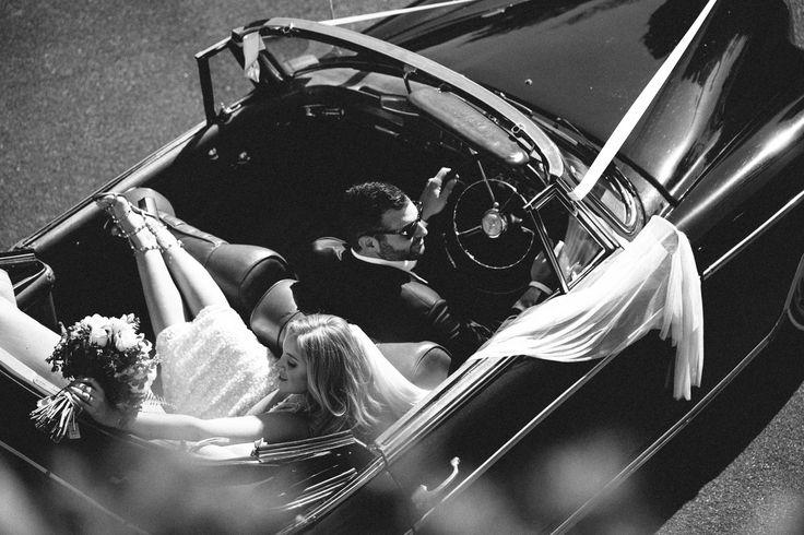Alison & Dane -   #mercedesbenz #weddingday #weddingphotography #classiccar #vintagecars #vintageweddingcar #blackandwhite #moviestar #justmarried #weddinginspo #weddinggown #bridalgown