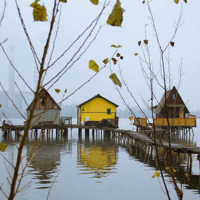 Lake Bokod, Hungary www.european-backpacking.com #europeanbackpacking