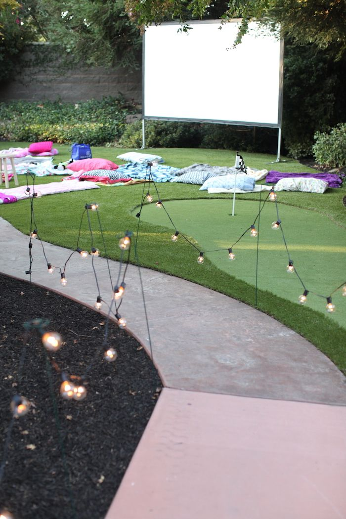 216 Best Backyard Entertainment Ideas Outdoor Movie Nights And More Images On Pinterest