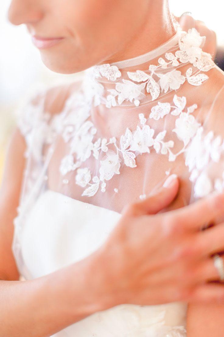Photography: Facibeni Fotografia - http://www.stylemepretty.com/portfolio/facibeni-fotografia Wedding Dress: Blumarine - www.blumarine.com/   Read More on SMP: http://www.stylemepretty.com/destination-weddings/italy-weddings/2015/05/21/romantic-laduree-inspired-tuscany-beach-wedding/