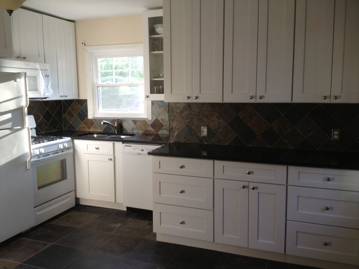 My dream kitchen is completed!! Aspen White Shaker ...