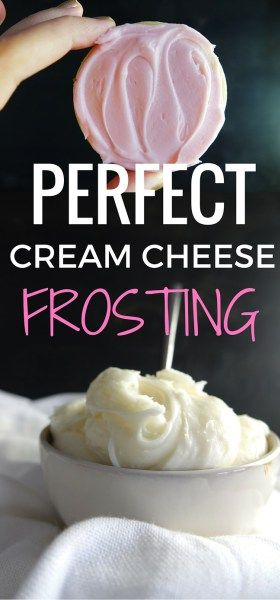 This is my favorite frosting to use on EVERYTHING! You can't go wrong when it comes to cream cheese frosting.