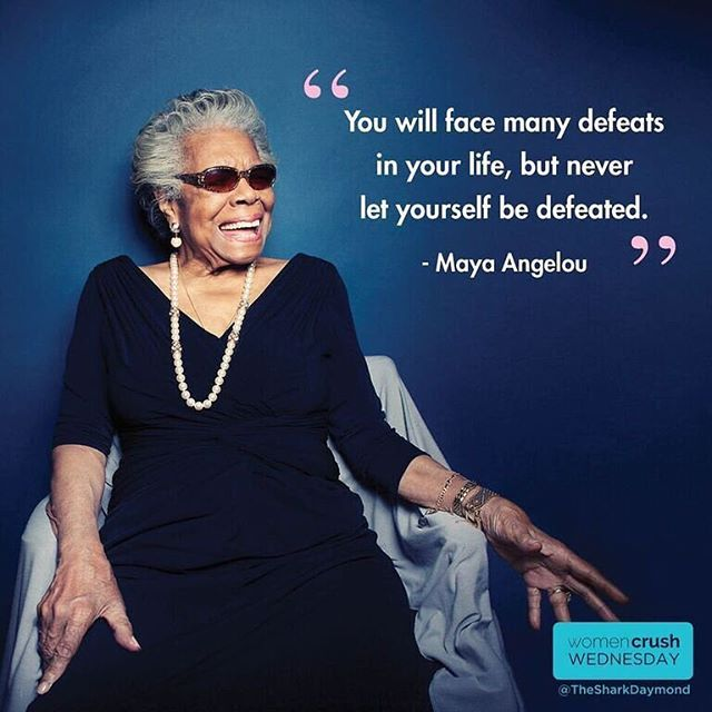 In honor of #BlackHistoryMonth, wise words from the legendary #MayaAngelou. #wcw