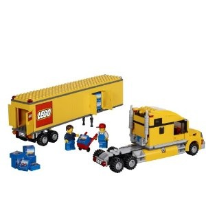 #Lego #City Truck and Trailer Set