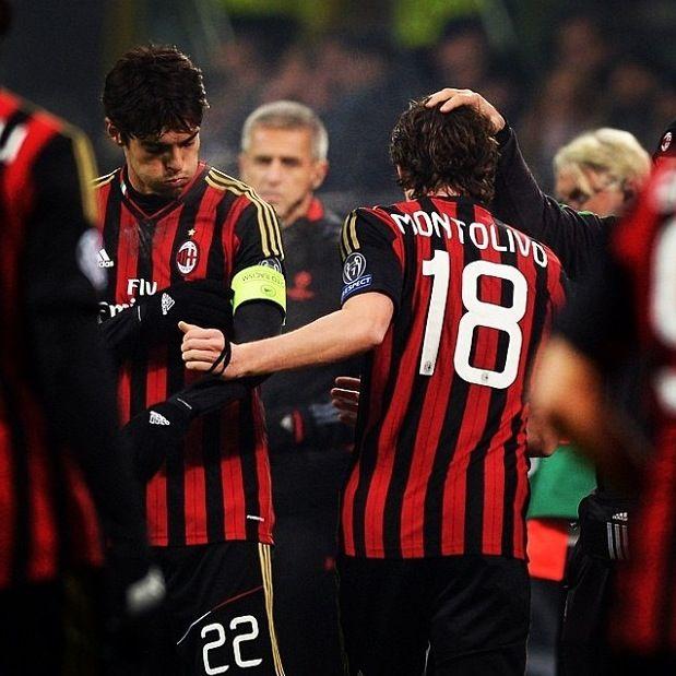 Kaka and Montolivo AC Milan