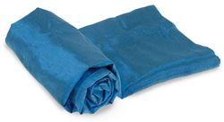 Silk Rectangular Sleep Liner Pacific Blue