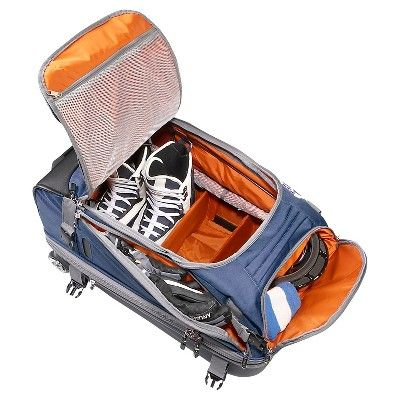 eBags Tls Mother Lode Junior 25 Wheeled Duffel - Blue Yonder