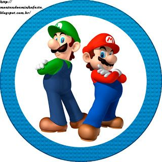 Montando minha festa: Super Mario Bros