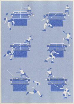 photocopieuse 3 passages monochrome bleu