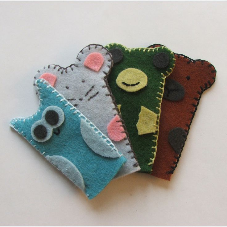 felt finger puppets with free pattern https://bimboodesign.files.wordpress.com/2014/12/finger_puppet.pdf