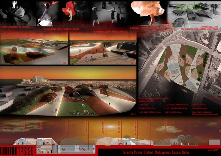 """Competition """"Taranta Power Station"""" by ArchiSTART"""