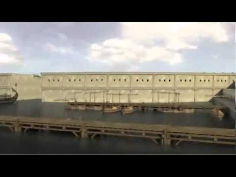 Ancient Carthage -- 3D film by UNESCO, which depicts both the Carthaginian and Roman versions of the military harbor.
