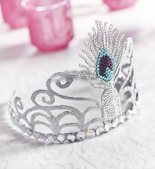 DIY- Homemade Quinceanera Crown. This Beautiful Peacock