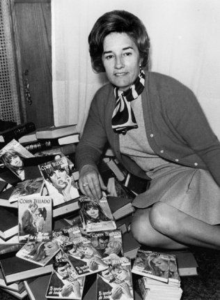 Corin Tellado (April 25, 1927 – April 11, 2009) was born Maria del Socorro Tellado Lopez in Viavelez, Spain. She was educated in a school run by nuns in Cadiz. Her first novel was published in 1946 when she was 19. During her lifetime, she wrote about 4,000 books and sold over 400 million copies. She also wrote under the pseudonyms Ada Miller Leswy and Ada Miller.