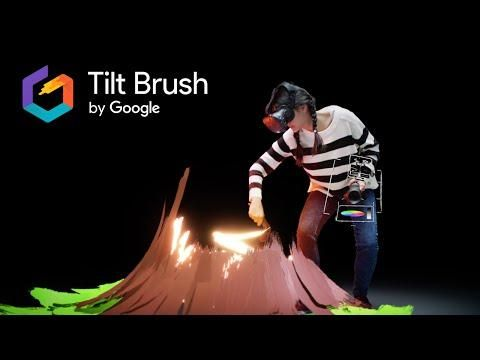 Tilt Brush: Painting from a new perspective – YouTube