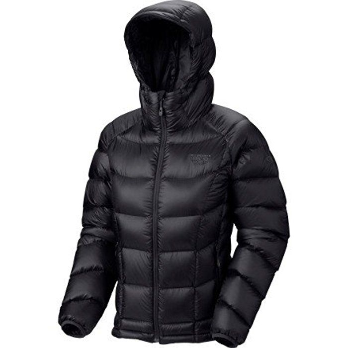 Mountain Hardwear Hooded Phantom Jacket, Black, X-Small