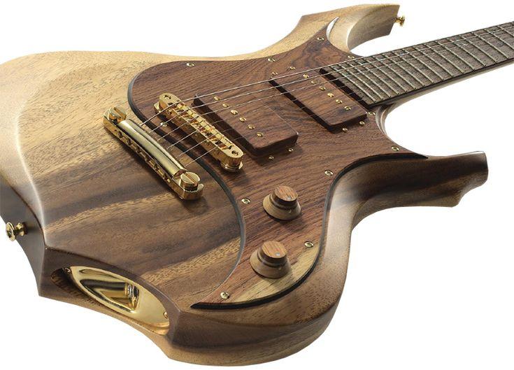 custom guitars   ... shinigami god of death armor custom exotic forest custom