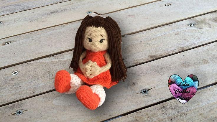Paula doll crochet amigurumi (English subtitles) 1/2 - YouTube