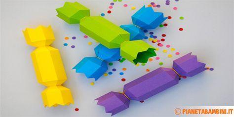 Come realizzare confezioni regalo fai da te con scatola a forma di caramella