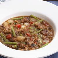 Sirloin and Portobello Stew