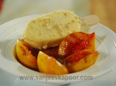 25 best continental cuisines images on pinterest kitchens sanjeev peaches coated with sugar and cinnamon powder grilled and served with ice cream grilled peachesice cream recipescinnamon powdersanjeev kapoorfood forumfinder Choice Image
