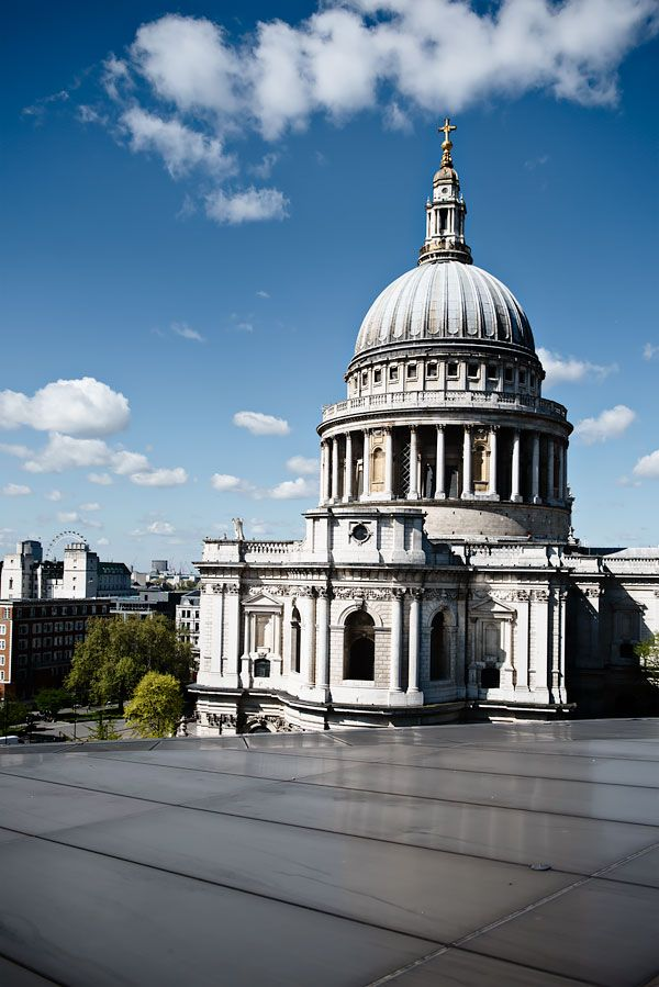 10 Hidden Sights in London, England | The Everygirl | here: The view from New One Change's roof terrace