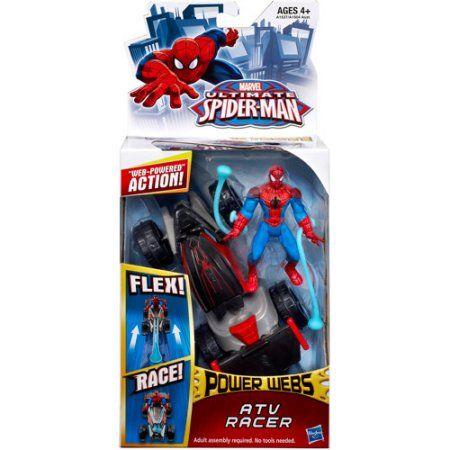 Marvel Ultimate Spider-Man Power Webs ATV Racer Vehicle, Assorted