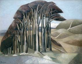 Wood on the Downs 1930 Paul Nash