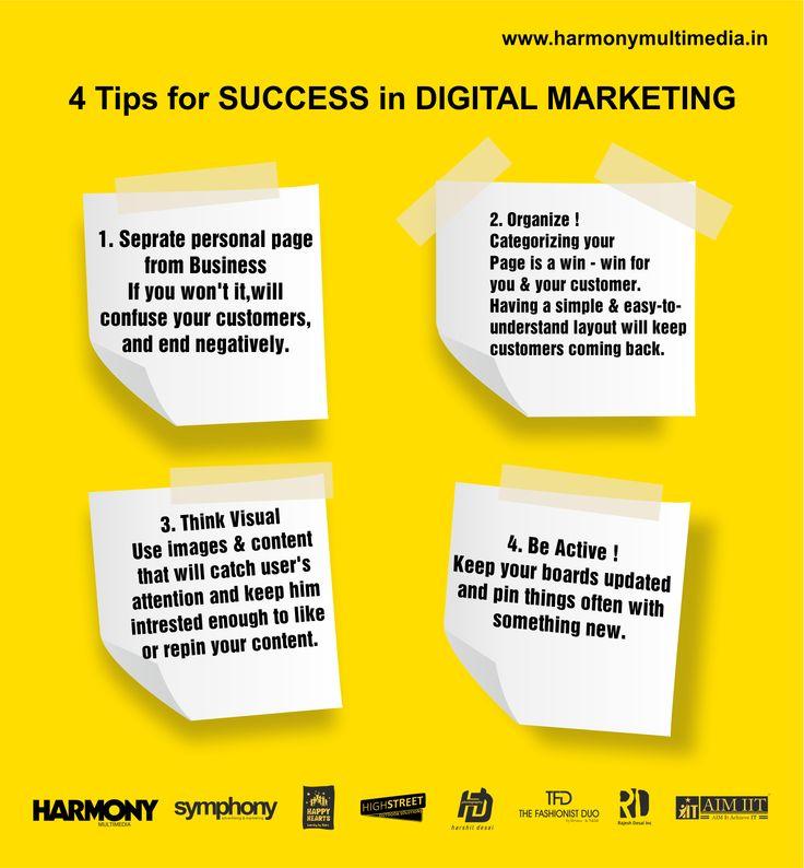 4 tips for Digital Marketing