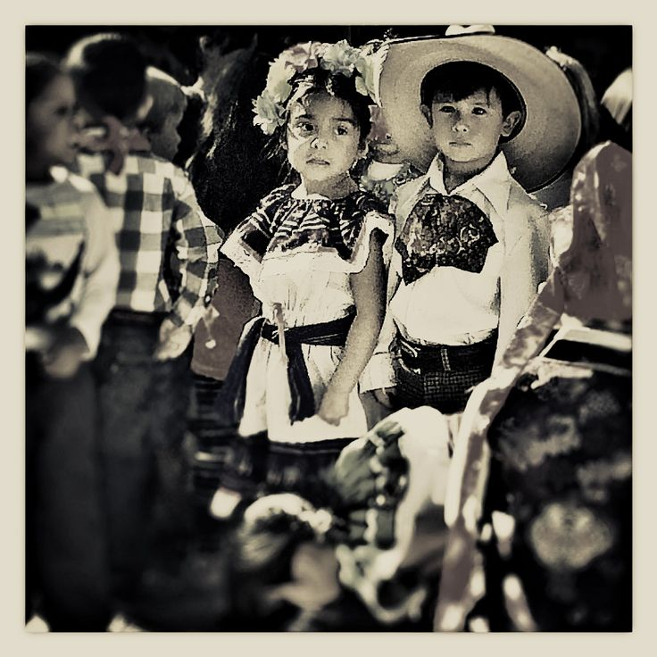 Little Mexican couple