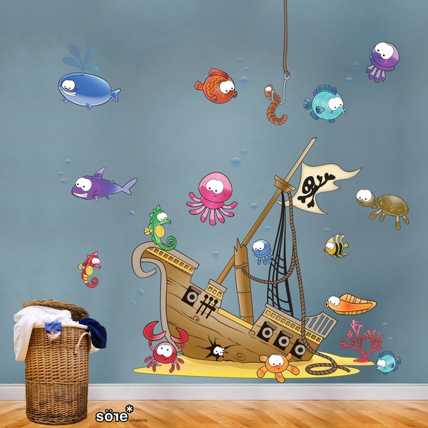 Pirates Kids Wall Decal: Best Pirate Ships And Nursery Ideas