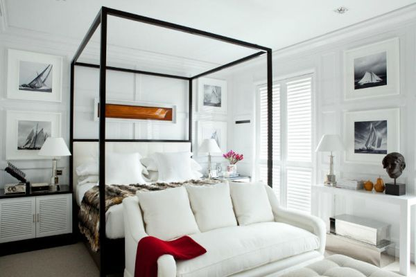 Luis Bustamante's stylish, symmetrical, classical and modern interiors