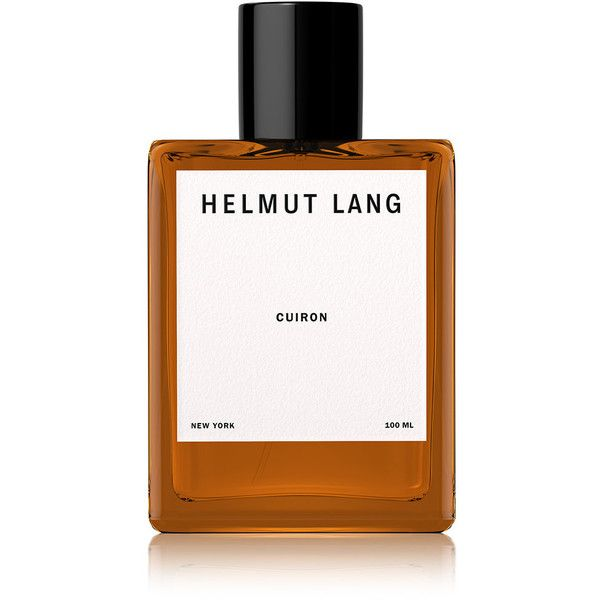 Helmut Lang Cuiron Eau de Cologne - 100 ml ($165) ❤ liked on Polyvore featuring beauty products, fragrance, colorless, pink fragrance, helmut lang fragrance, pink perfume, helmut lang and heart perfume