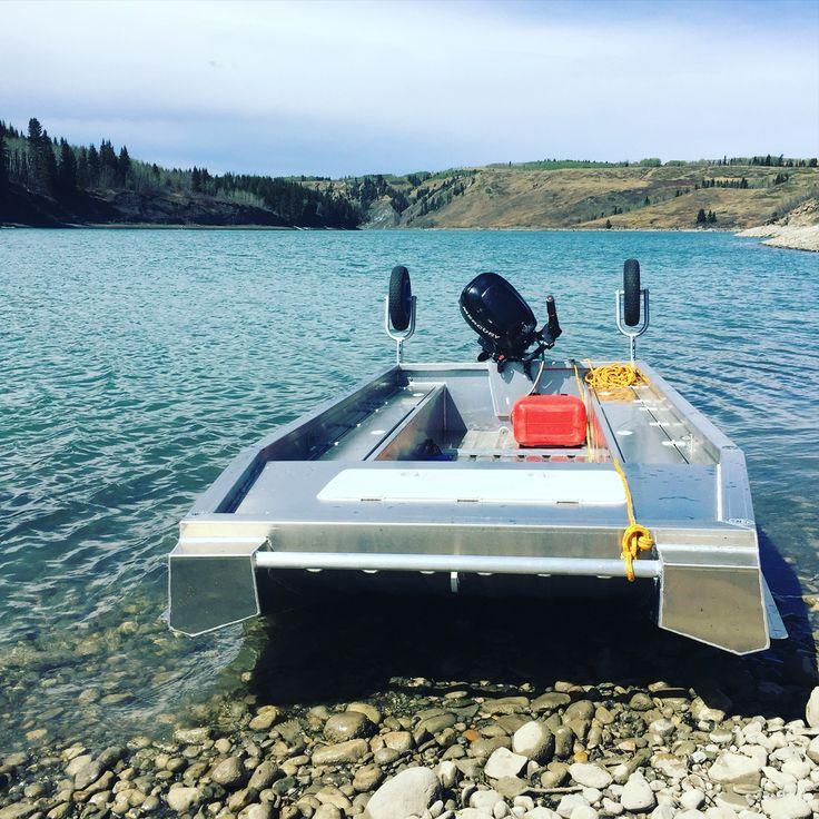 We make these awesome super stable dual purpose river and for Lake fishing boats