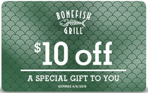 Bonefish Grill Gift Cards GIVEAWAY - 4 Winners! | Bonefish grill ...