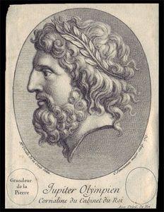 Jupiter Olympien Cornaline du Cabinet du Roi | Sanders of Oxford